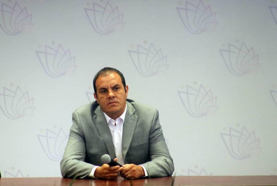 En Morelos no negociamos con crimen organizado: Cuauhtémoc Blanco