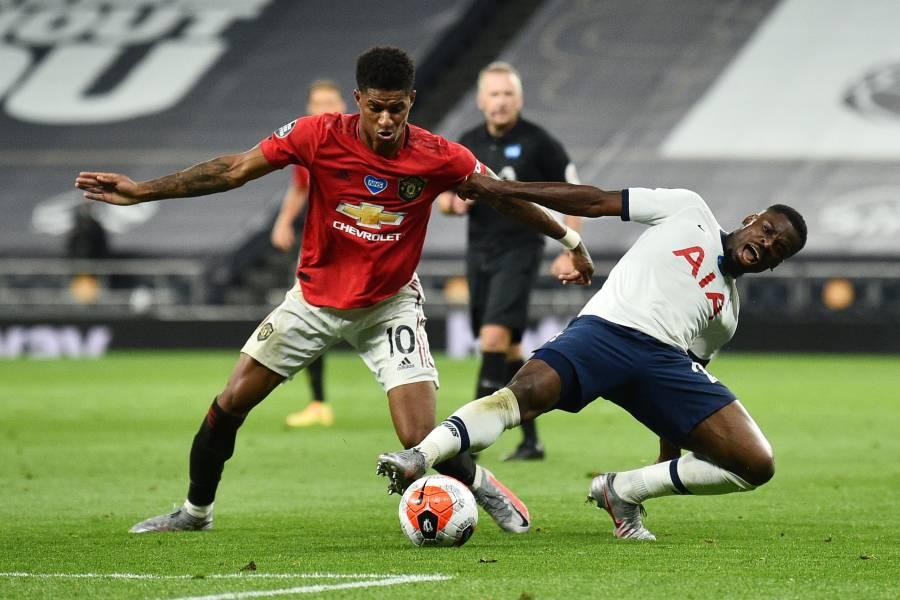 Manchester United rescata el empate ante el Tottenham