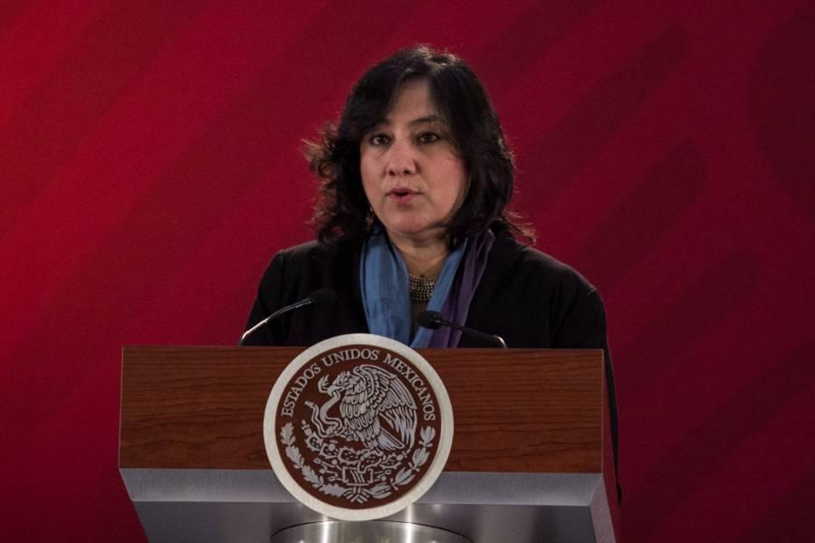 SFP niega que Irma Eréndira Sandoval haya recibido terreno como regalo