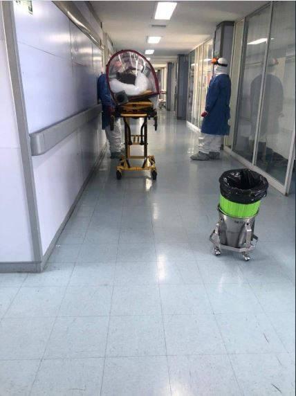 Exhortan a médicos de hospital del ISSSTE limpiar áreas de Covid-19 por falta de personal de limpieza