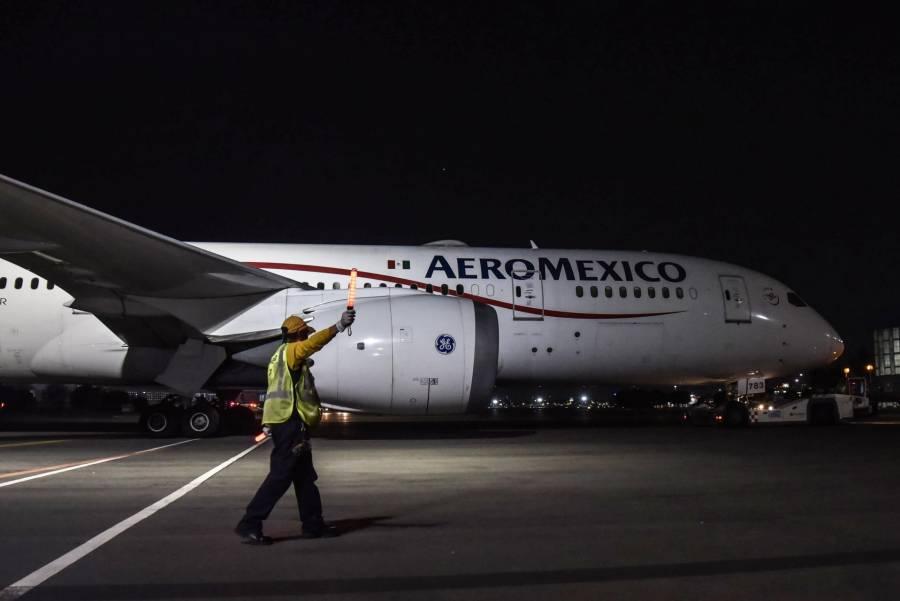 Niega Aeroméxico buscar bancarrota en EE.UU. para hacer frente a crisis