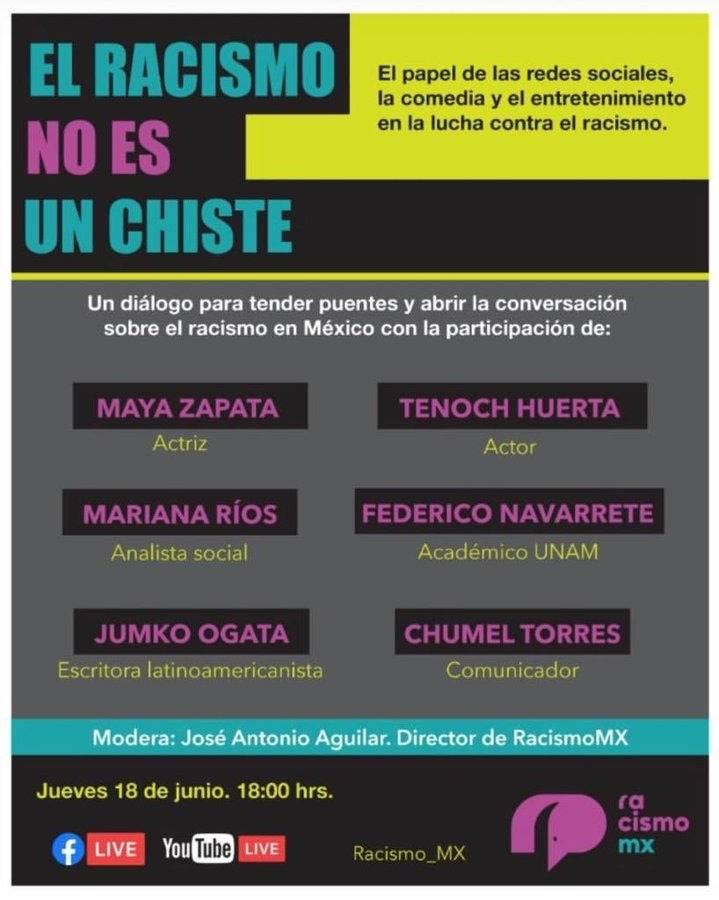 Chumel Torres hace su propio foro sobre discriminación