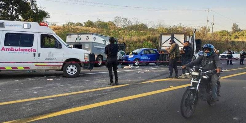 Cuatro muertos por asalto en camión de valores en Guadalajara