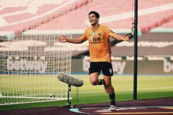 (Video) Raúl Jiménez anota en el triunfo del Wolverhampton frente al West Ham