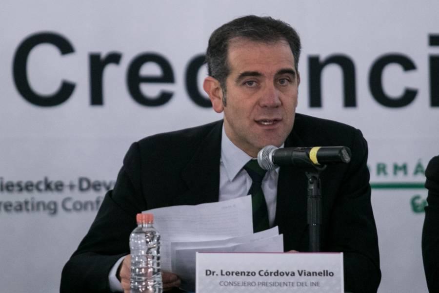 Lorenzo Cordova pide no usar al Covid para vulnerar democracia
