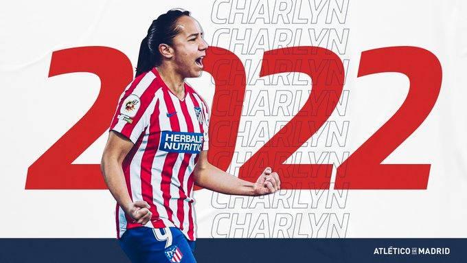 Charlyn Corral renueva hasta 2022 con Atlético de Madrid