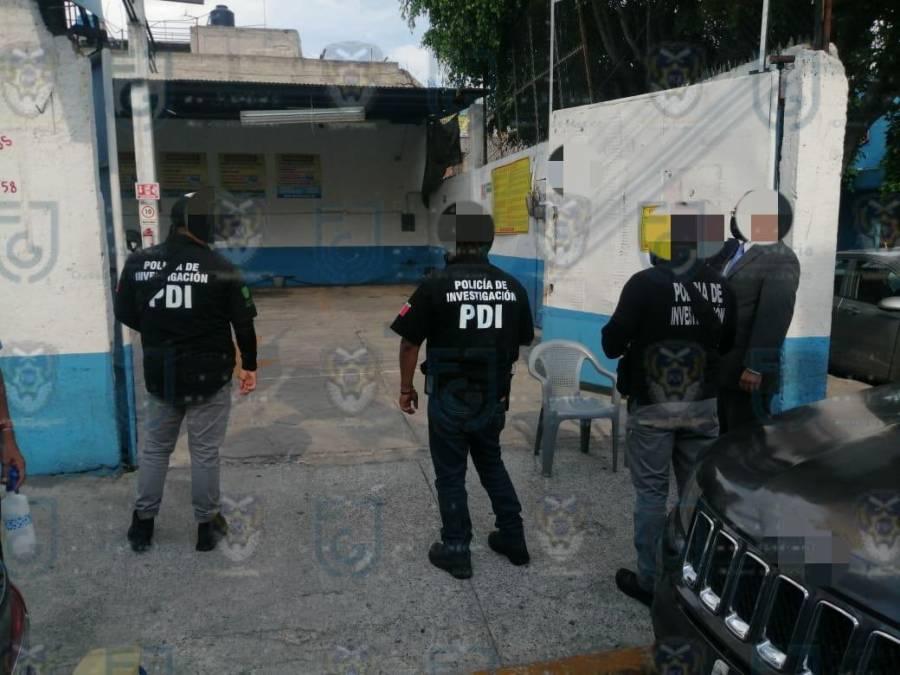 Fiscalía recupera dos camionetas en cateo a autolavado en Iztacalco
