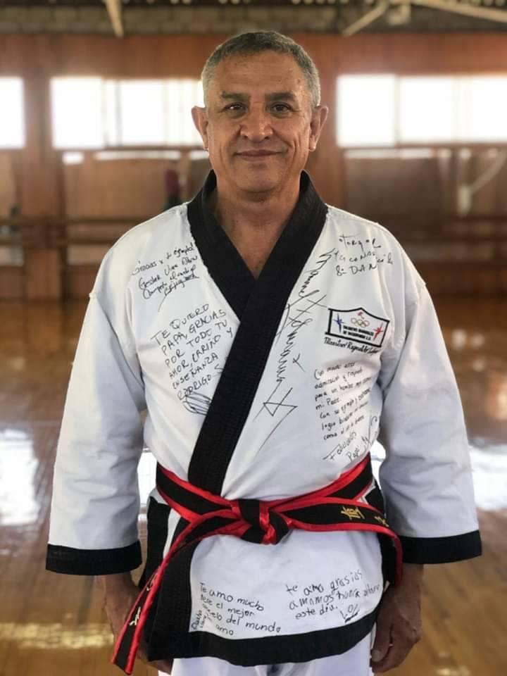 Fallece Reinaldo Salazar, pilar del taekwondo