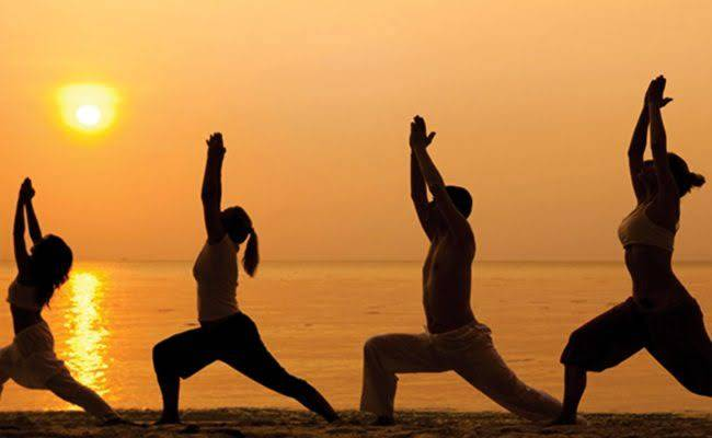A pesar del Covid-19 India celebra el Día Internacional del Yoga