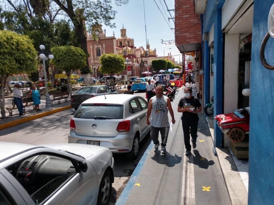 Sin medidas sanitarias, en Puebla retoman las actividades