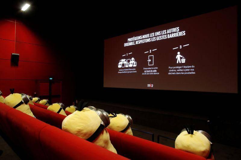 Minions colaboran en la reapertura de cines en Francia tras Covid-19