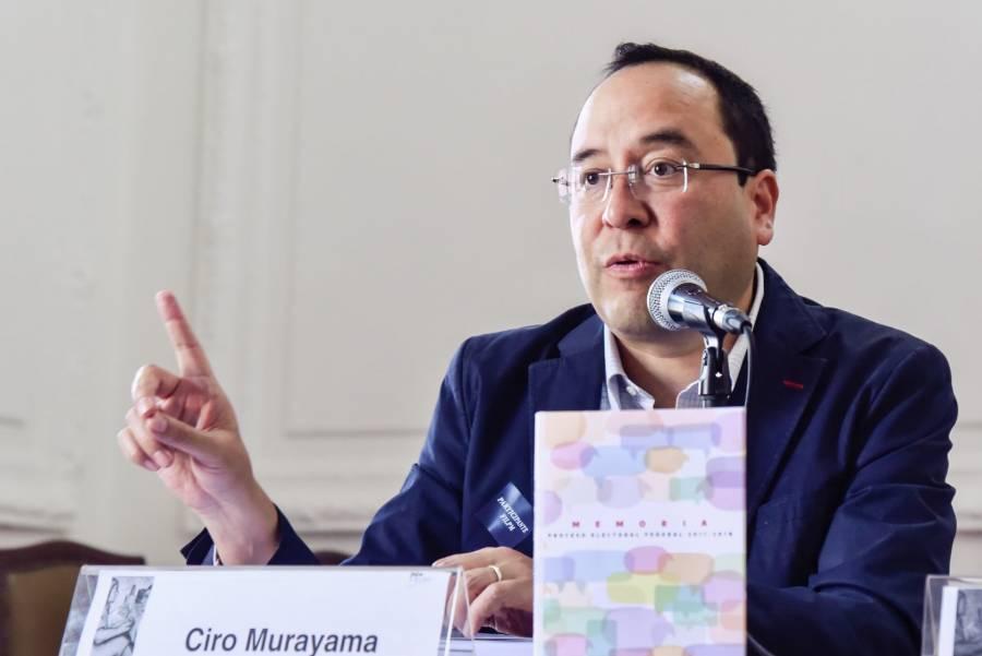 Murayama aseguró que el INE es independiente y autónomo