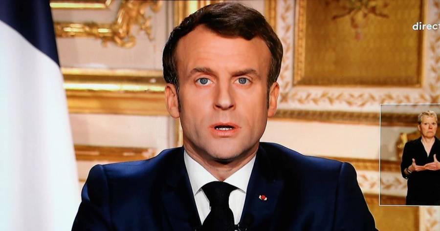 Macron se lanza contra la OTAN