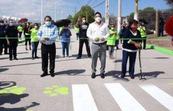 Ayuntamiento de Soledad inaugura la pavimentación del Camino a San José del Barro