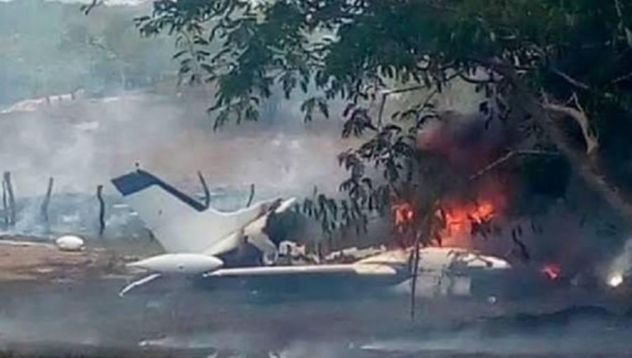 Seis muertos por desplome de avioneta en Chihuahua