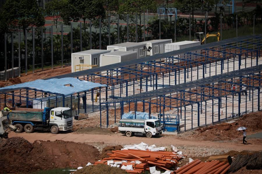 Derrumbe sin freno, la construcción cae 32.4 en abril