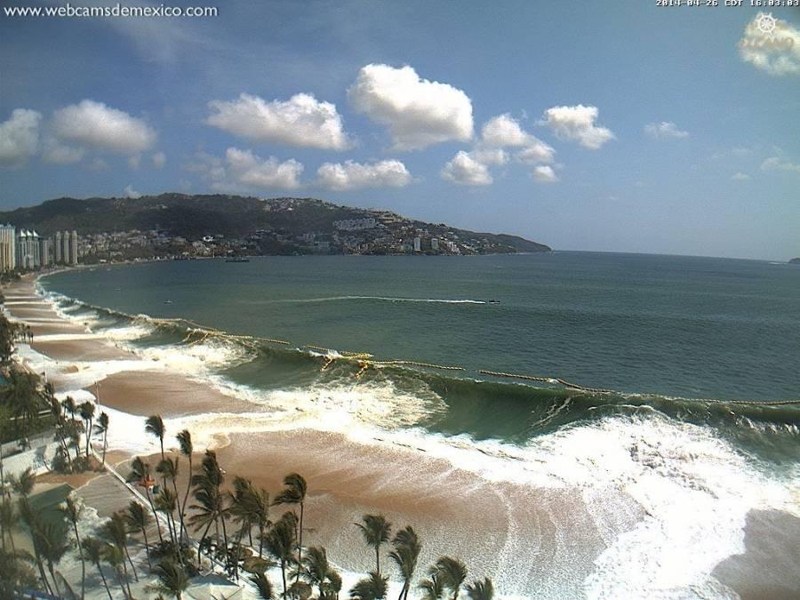 Emiten NOOA alerta de tsunami para costas mexicanas tras sismo