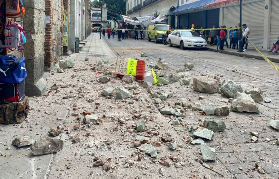 Murat pide a la Segob emitir declaratoria de emergencia tras sismo