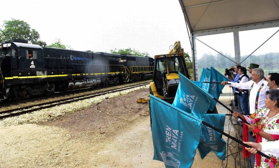 Jueza suspende obras del primer tramo del Tren Maya
