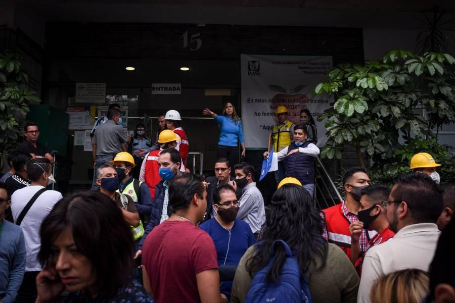 Durante sismo, hospitales no evacuaron a pacientes por protocolo: IMSS