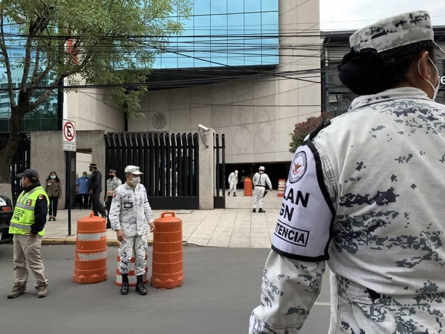 Guardia Nacional realiza recorridos por el país junto con Protección Civil por sismo