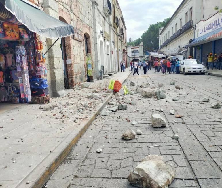 Tras sismo en Crucecita, reportan una persona fallecida