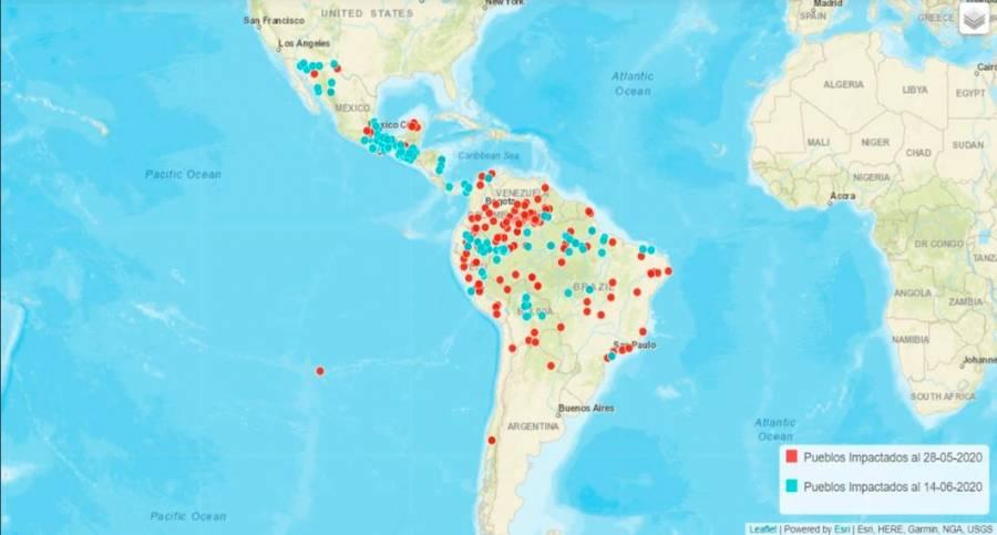 Mapean pueblos indígenas y negros de AL afectados por Covid-19
