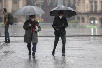 Alerta Protección Civil sobre fuertes lluvias en la Ciudad de México