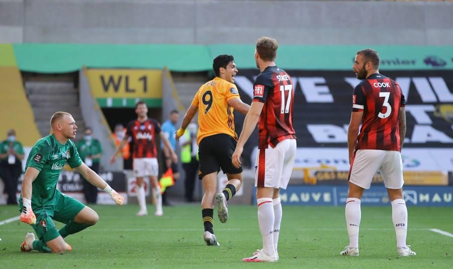 Raúl Jiménez da la victoria al Wolverhampton y llega a su gol 15