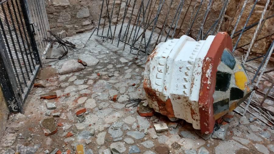 Nuevo sismo agrava daños a inmuebles culturales