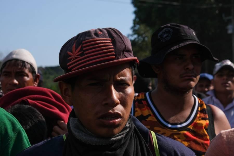 Caravana migrante pretenden cruzar México con el peligro del Covid