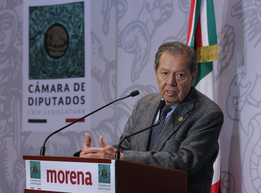 Pide Muñoz Ledo defender autonomía del INE