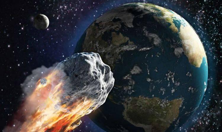 Cinco grandes asteroides pasarán esta semana cerca de la Tierra