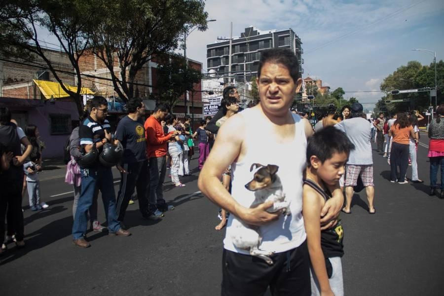 46 millones de mexicanos sintieron el sismo de ayer, que ha tenido mil 571 réplicas