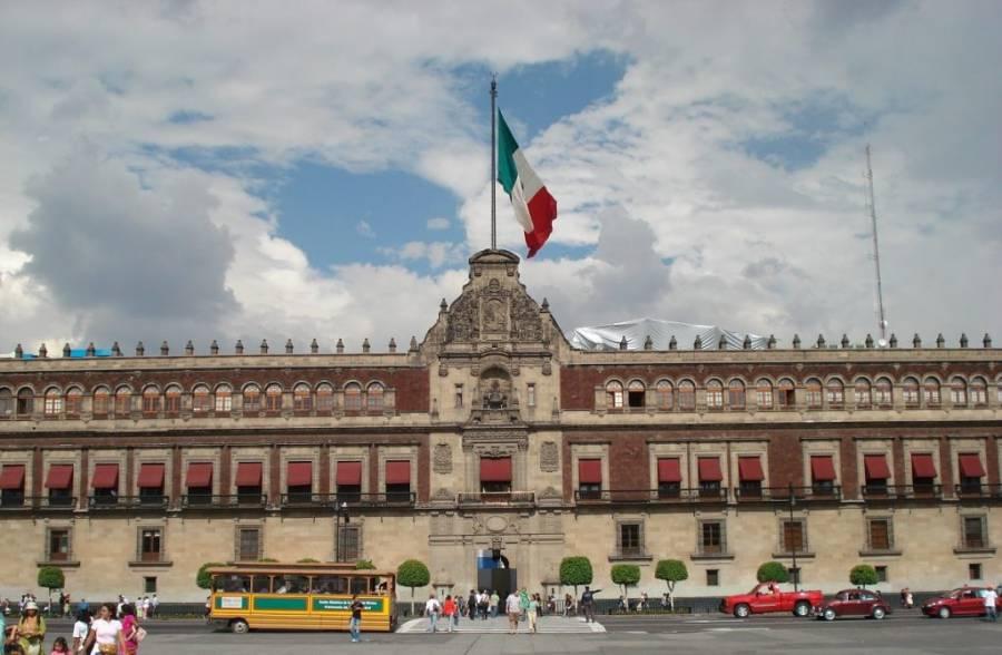 Se registran daños menores en Palacio Nacional tras sismo: Cultura