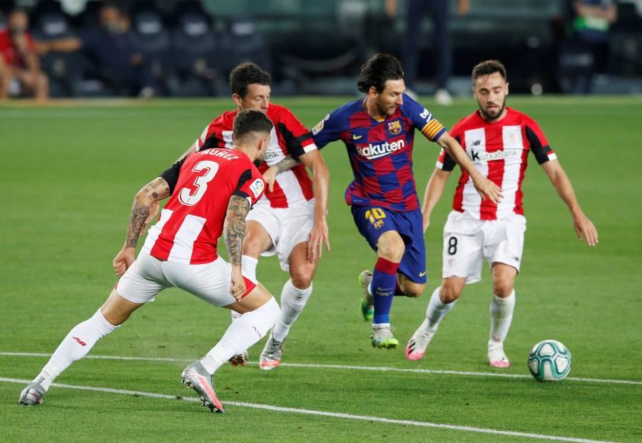 Barcelona sufre, pero recupera el liderato de Liga