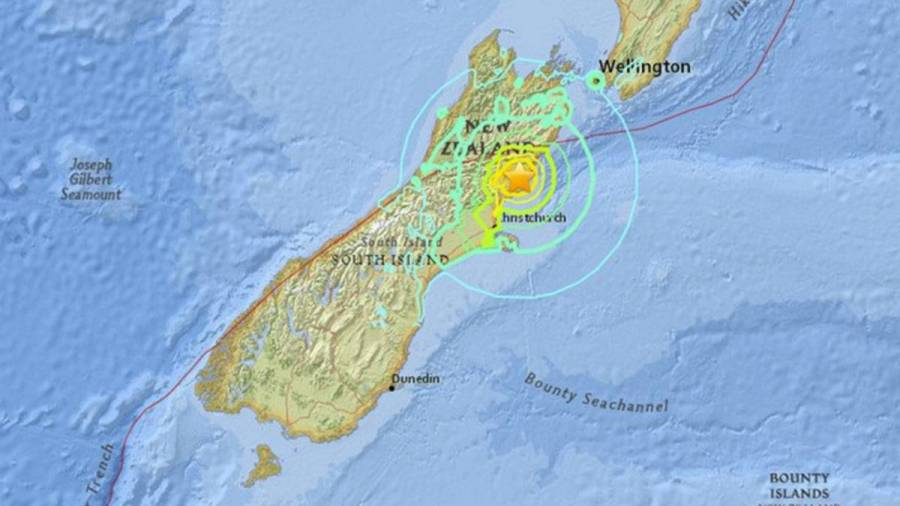 Sismo de 5.5 en Nueva Zelanda