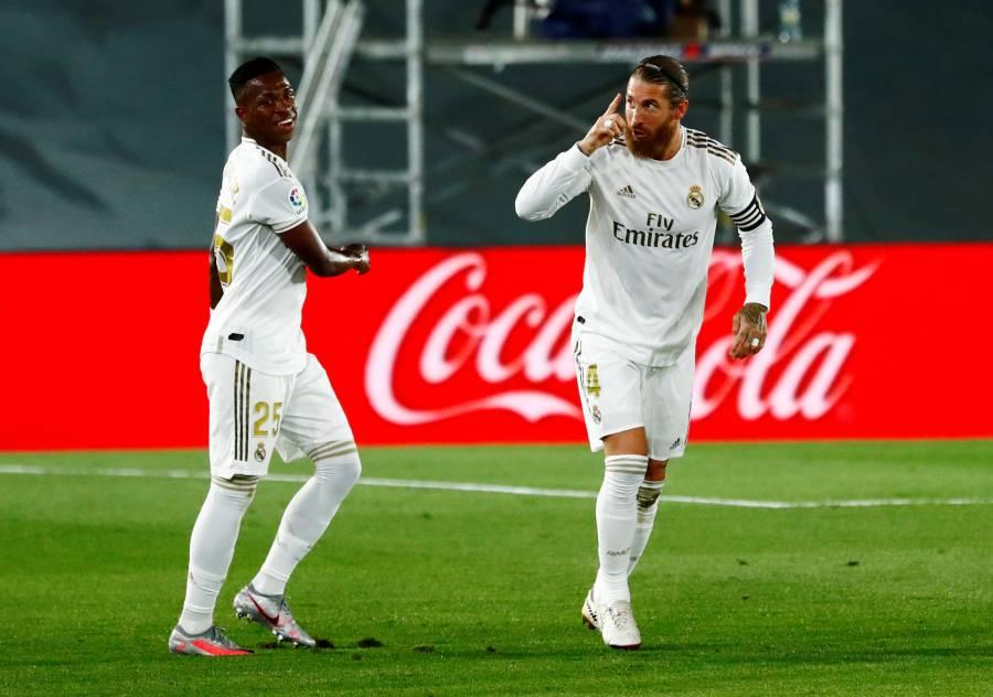 Vinicius y Ramos recuperan el liderato para el Real Madrid