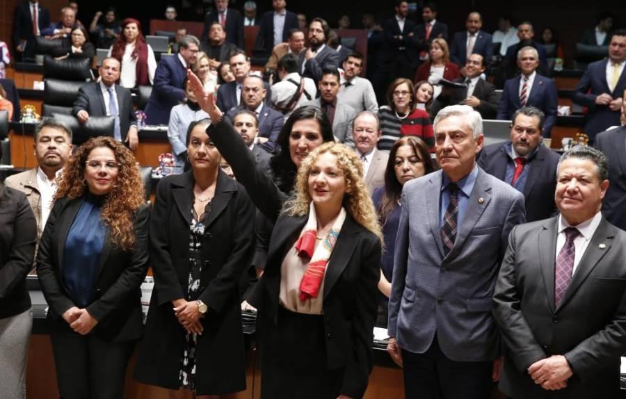 Formaliza Mara Gómez renuncia a la CEAV
