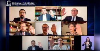 El TEPJF desecha las impugnaciones relacionadas con el otorgamiento de prerrogativas a los partidos políticos durante el año en curso