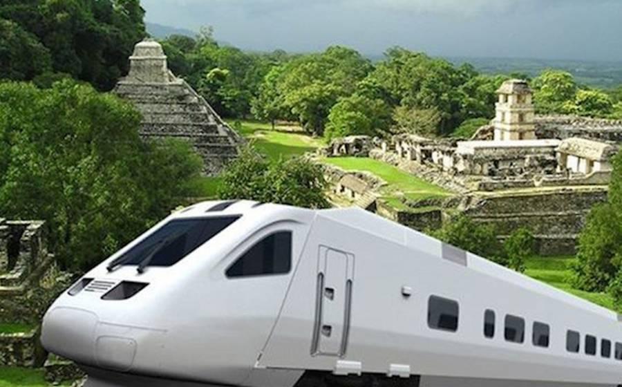Freno a Tren Maya tiene tintes políticos: AMLO