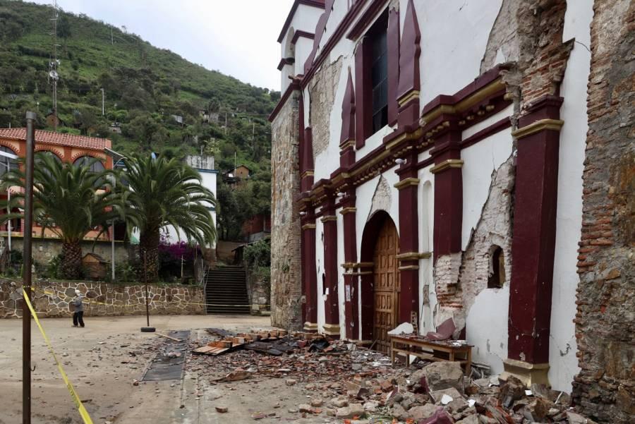 En Oaxaca emiten declaratoria de emergencia por sismo