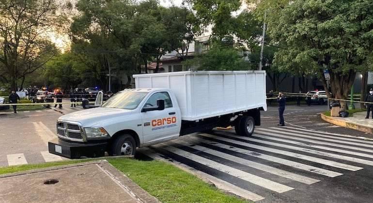 Se deslinda Grupo Carso de vehículo utilizado en atentado