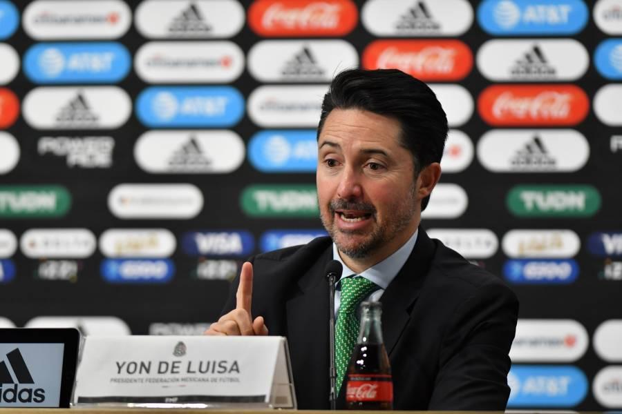 Yon de Luisa confirma que México sí tendrá partidos en el 2020