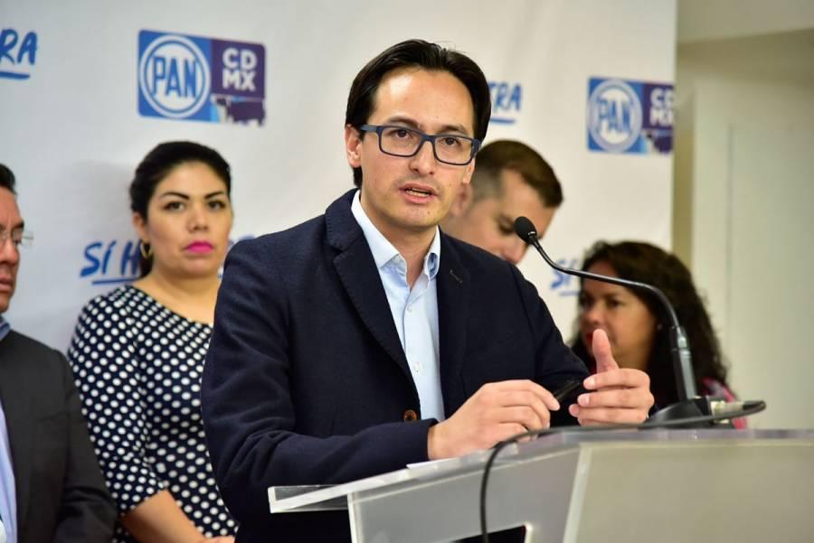 """Atentado contra García Harfuch no puede """"echarse en saco roto"""": PAN CDMX"""