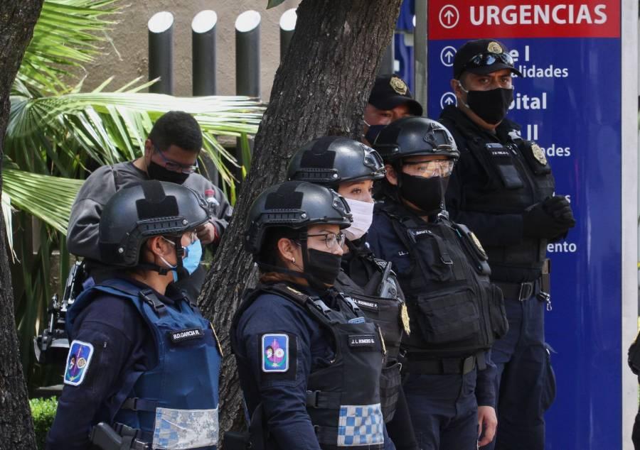 Detenidos por emboscada a Harfuch serán llevados a revisión médica