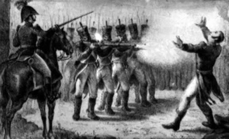 El fusilamiento de Aldama, Allende y Jiménez