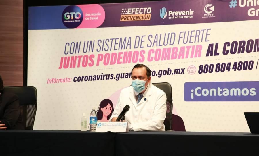 """""""Tenemos que aprender a vivir con las medidas sanitarias"""": Salud Guanajuato"""