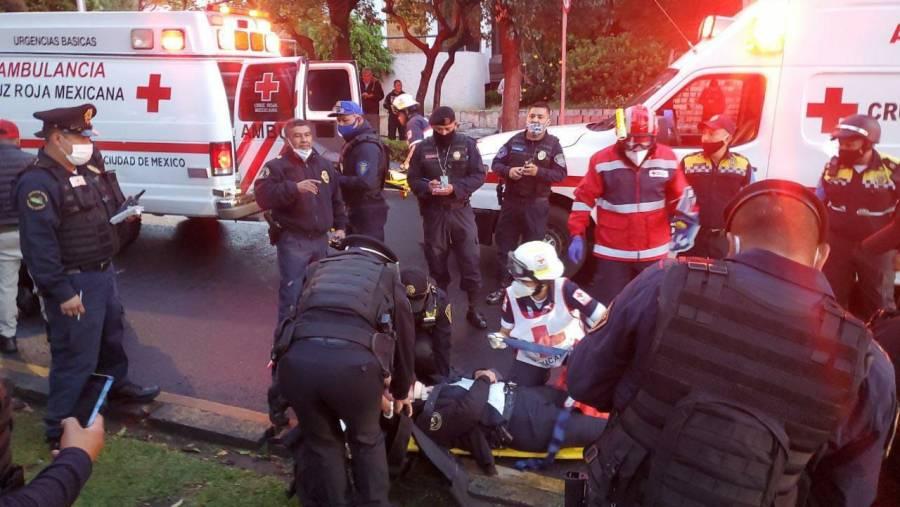 Cruz Roja desplegó 15 paramédicos tras ataque contra García Harfuch