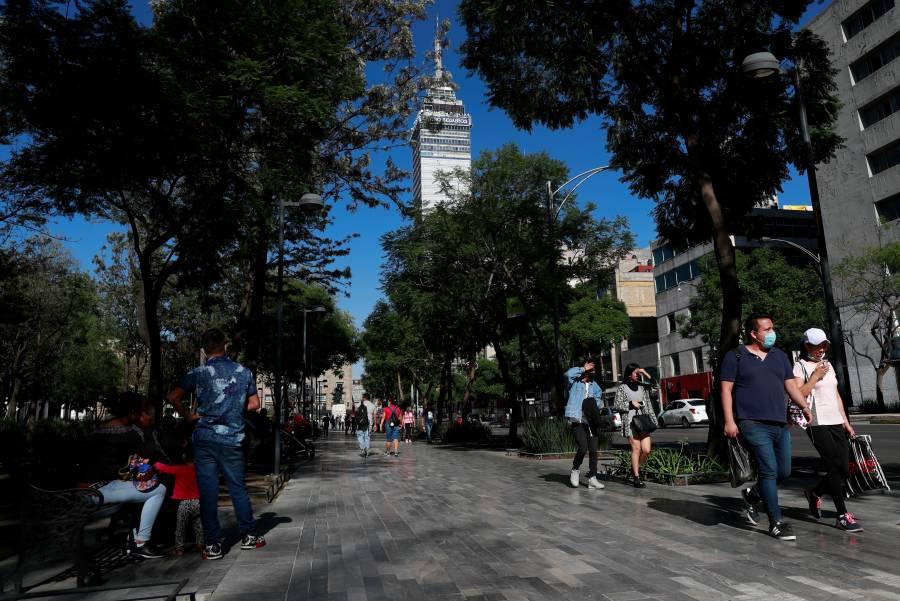 La Alameda Central, el espacio de los citadinos